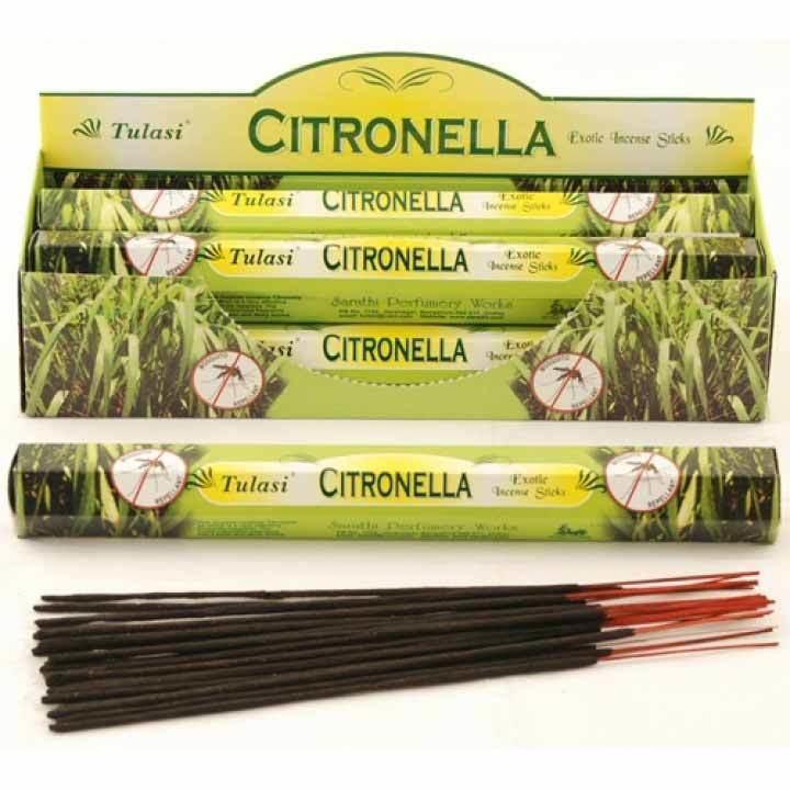 Tulasi Citronella Incense Pack- 20 sticks