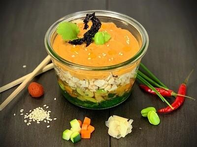 Poulet Suisse au curry rouge Thaï  MEDIUM