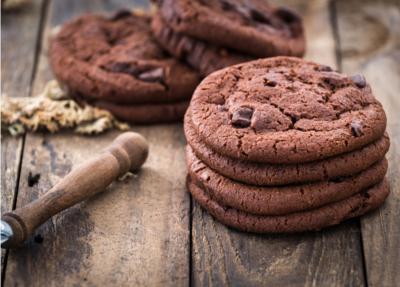 Big cookie au chocolat noir et pépites de chocolat