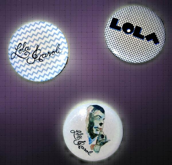 LOLAPAROLI Soli-Buttons 3er Set