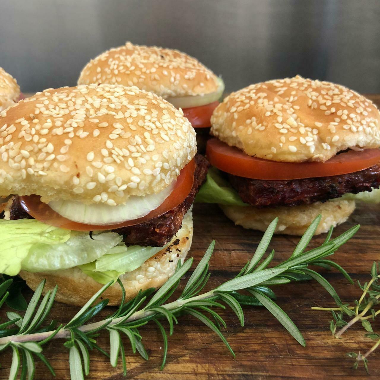 PTV Burger Patties (6 x 115g in each pack)