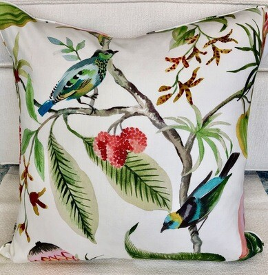 Birds in Paradise Pillow