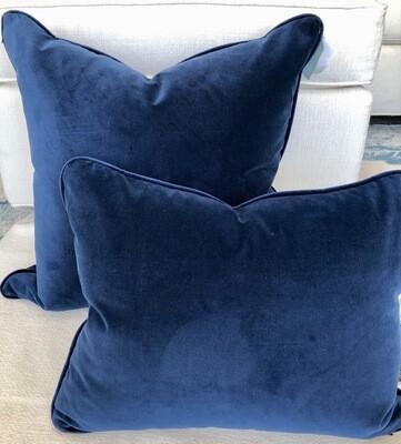 Indigo Blue Velvet
