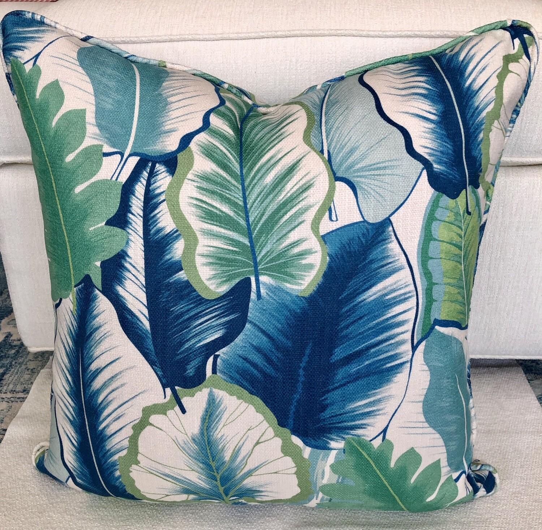 Key West Palm Pillow