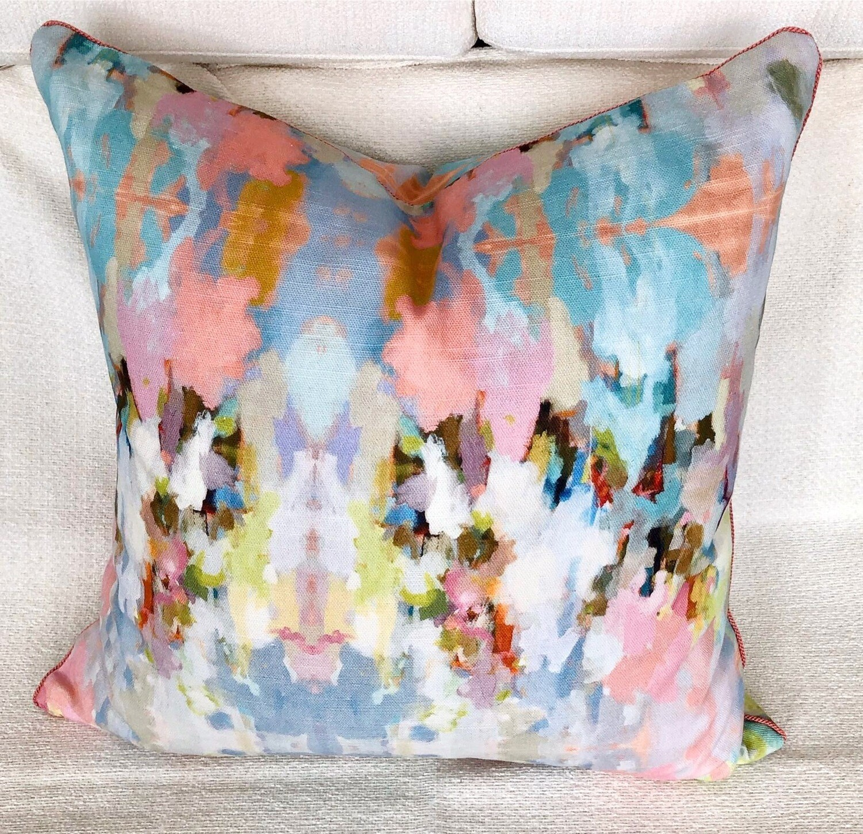 Pastel Parade Pillow