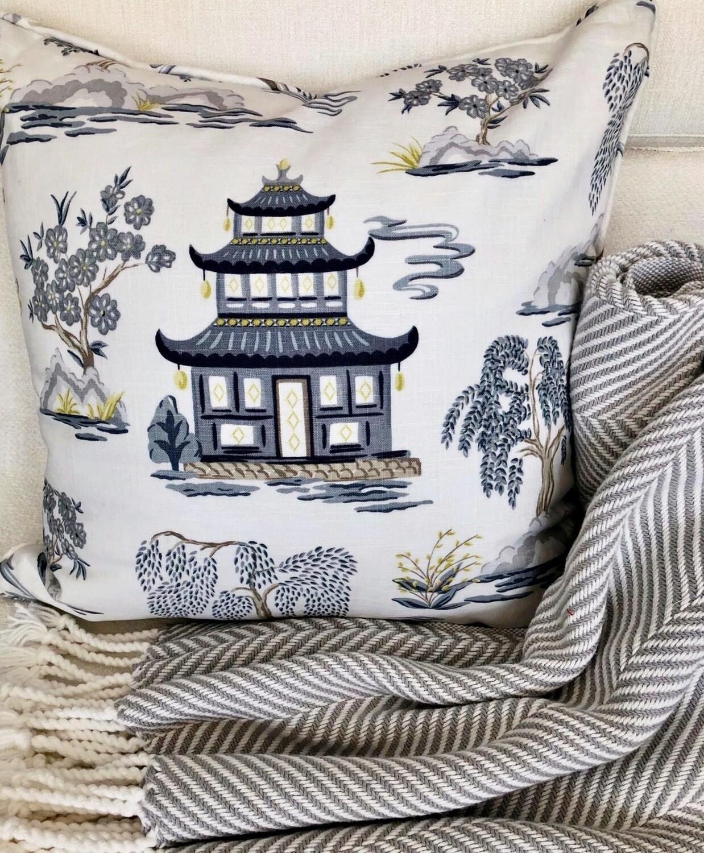 Shanghai Pagoda Pillow