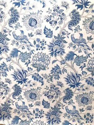 Blue Willow Fabric By The Yard