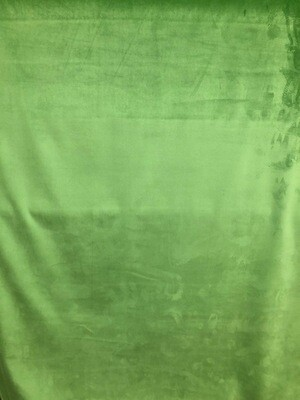 Kelly Green Velvet Fabric By The Yard