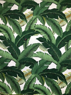 Tommy Bahama Green Palm Fabric By The Yard
