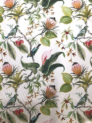 Birds in Paradise Fabric By the Yard