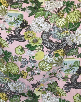 Hong Kong Garden Fabric By The Yard