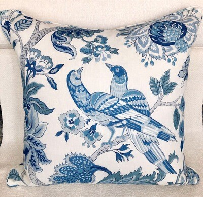 Blue Willow Pillow