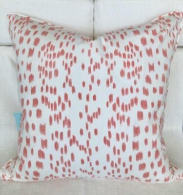 Blush Raindrop Pillow