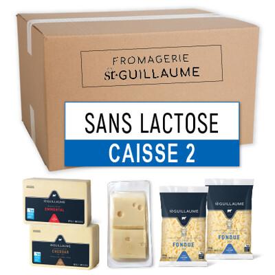 CAISSE 2 - SANS LACTOSE