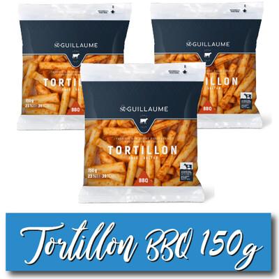 CAISSE - TORTILLONS BBQ 150G - 32 SACHETS