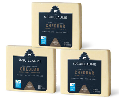 CHEDDAR EXTRA-FORT 2 ANS (12 X 200G) - CAISSE ENTIÈRE