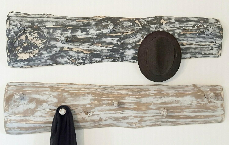 Live Edge and Limb Coat/Towel Rack