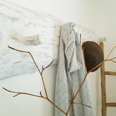 Live Edge and Limb Coat/Towel Rack -SOLD
