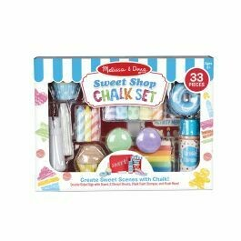 Sweet Shop Chalk Set - 33 pieces