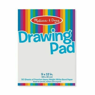 Drawing Paper Pad - (9