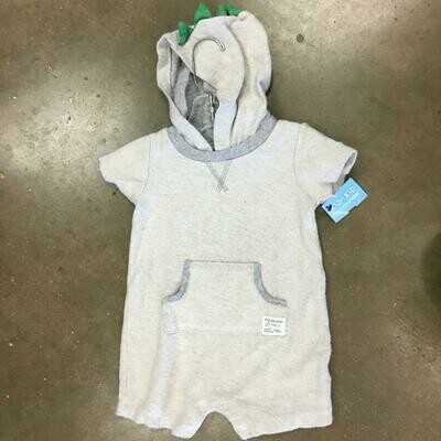 Boys Size 18m Romper - Used