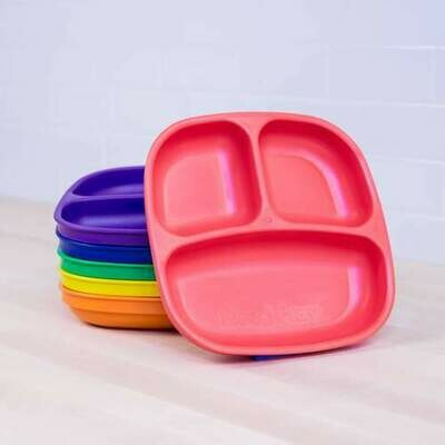 Re-Play Square Divided Plate - NEW ITEM