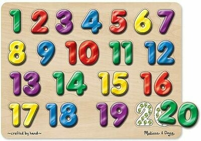 Spanish Numbers Sound Puzzle - NEW