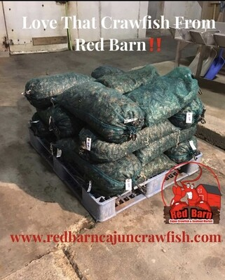 Large Live Crawfish Sacks Deposit SHREVEPORT PICKUP ONLY