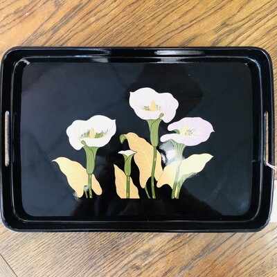 Vintage Lily of the Valley Tray