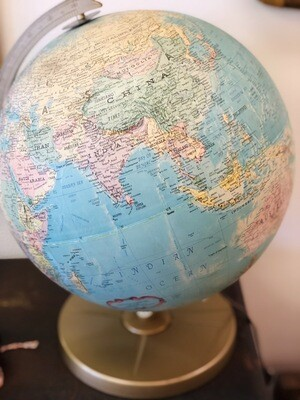 Replogle Globe Lamp