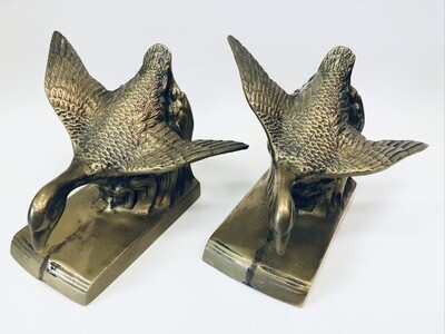 Flying Geese Bookends
