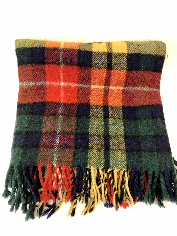 Tartan Lap Blanket