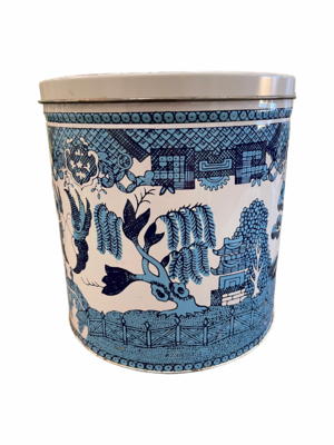 Blue Willow Canister