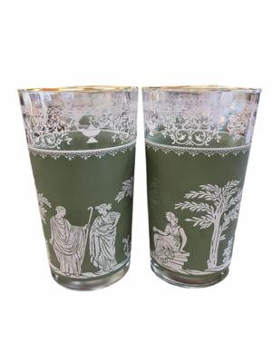 Jeanette Jasperware Hellenic Glasses