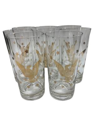 Gold Eagle Collins Glasses
