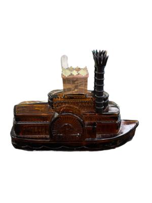 Avon Steamboat Bottle