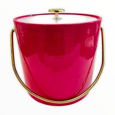 Pink Kraftware Ice Bucket