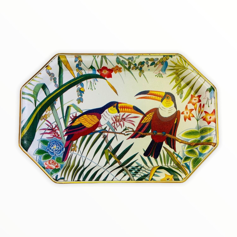 Vintage Toucan Tray