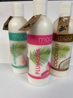 MAUI SOAP COMPANY PLUMERIA BODY LOTION