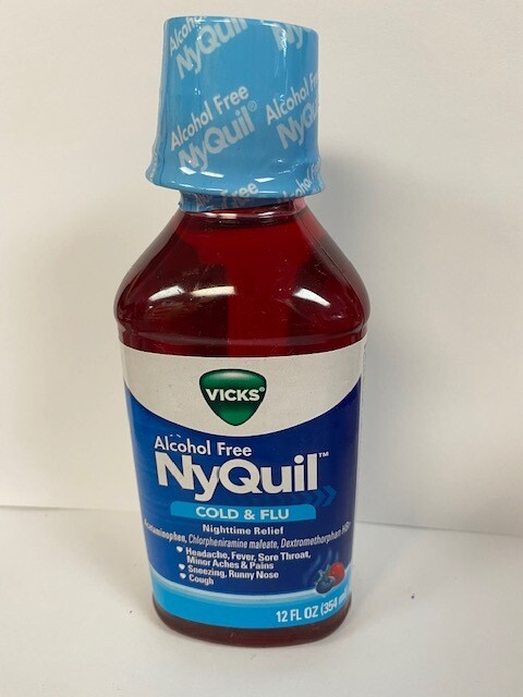 VICKS NyQuil COLD & fLU Nighttime Relief