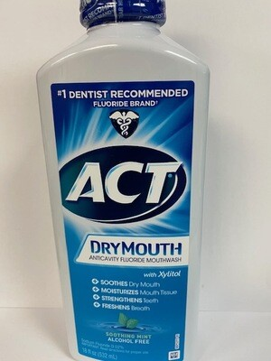 ACT TOTAL CARE DRY MOUTH MINT