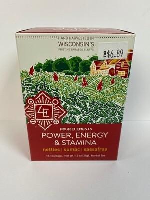 4E POWER, ENERGY  STAMINA