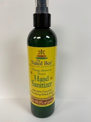 THE NAKED BEE HAND SANITIZER 8OZ
