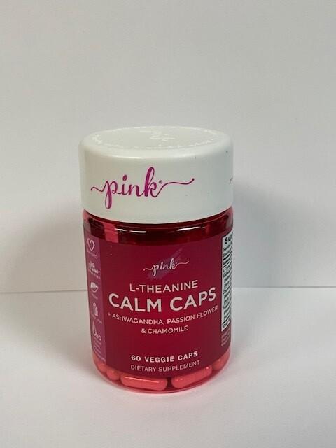 Pink L-THEANINE CALM CAPS