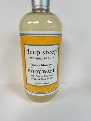 DEEP STEEP BDY WASH HNY BLOSSOM