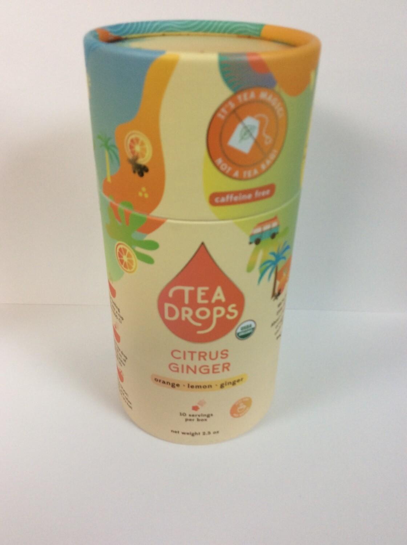 TEA DROPS CITRUS GINGER 10 CT