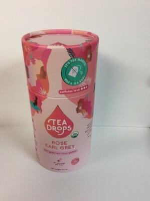 TEA DROPS ROSE EARL GREY  10 CT