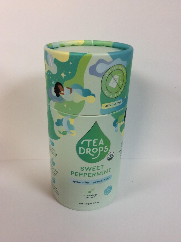 TEA DROPS SWEET PEPPERMINT 10CT