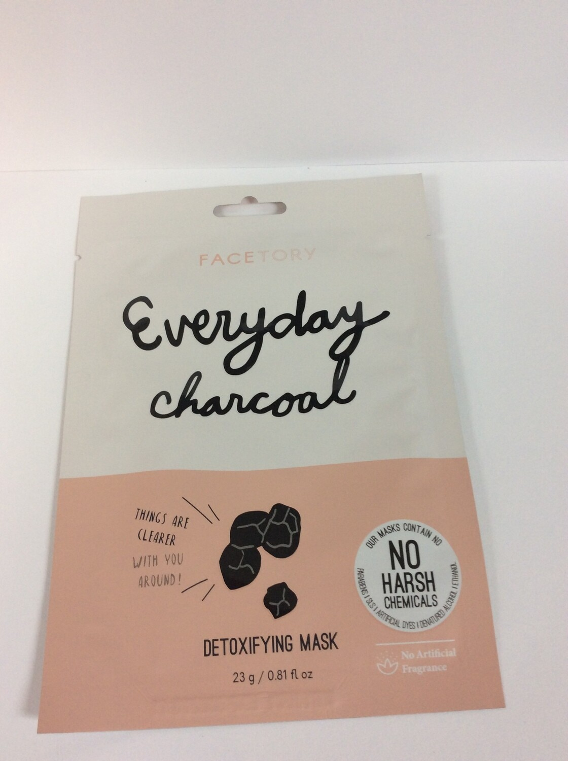FACETORY Everyday Charcoal mask