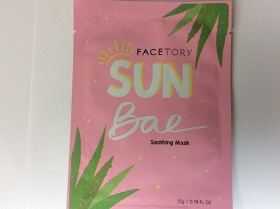 FACETORY SUN Bae Soothing Mask